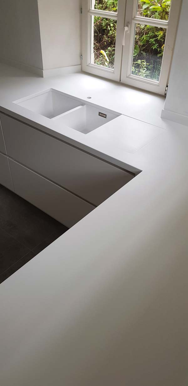 Menuiserie Buffin réalisation solid surface